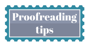 Proofreading Tips