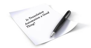 Translation Automation